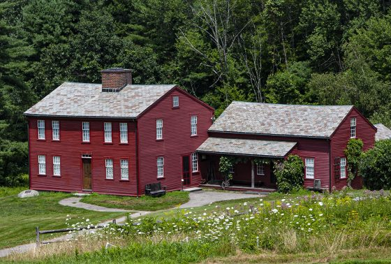 Fruitlands Farmhouse