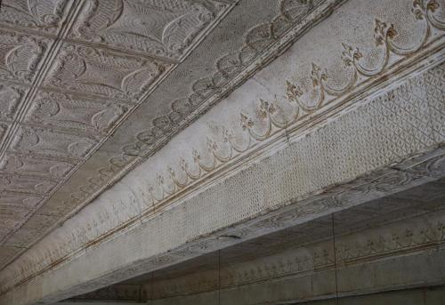 Tin ceiling in The Stissing Center